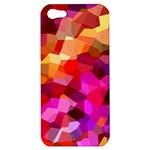 Geometric Fall Pattern Apple iPhone 5 Hardshell Case