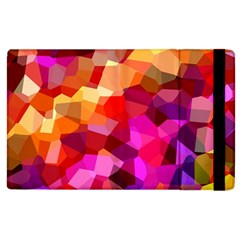 Geometric Fall Pattern Apple Ipad 3/4 Flip Case by DanaeStudio