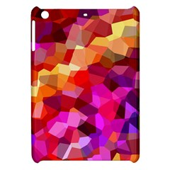 Geometric Fall Pattern Apple Ipad Mini Hardshell Case by DanaeStudio
