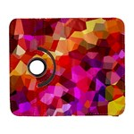 Geometric Fall Pattern Samsung Galaxy S  III Flip 360 Case Front