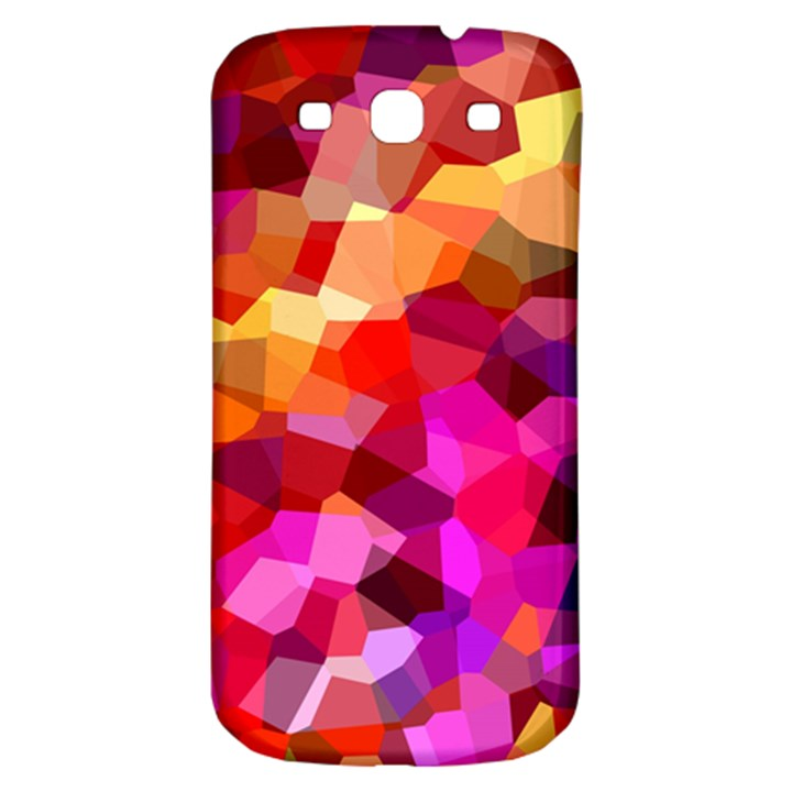 Geometric Fall Pattern Samsung Galaxy S3 S III Classic Hardshell Back Case