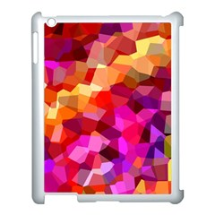 Geometric Fall Pattern Apple Ipad 3/4 Case (white) by DanaeStudio