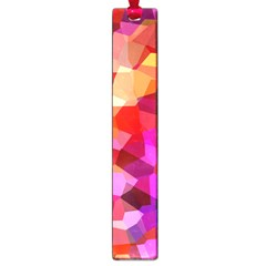 Geometric Fall Pattern Large Book Marks by DanaeStudio