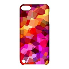 Geometric Fall Pattern Apple Ipod Touch 5 Hardshell Case With Stand