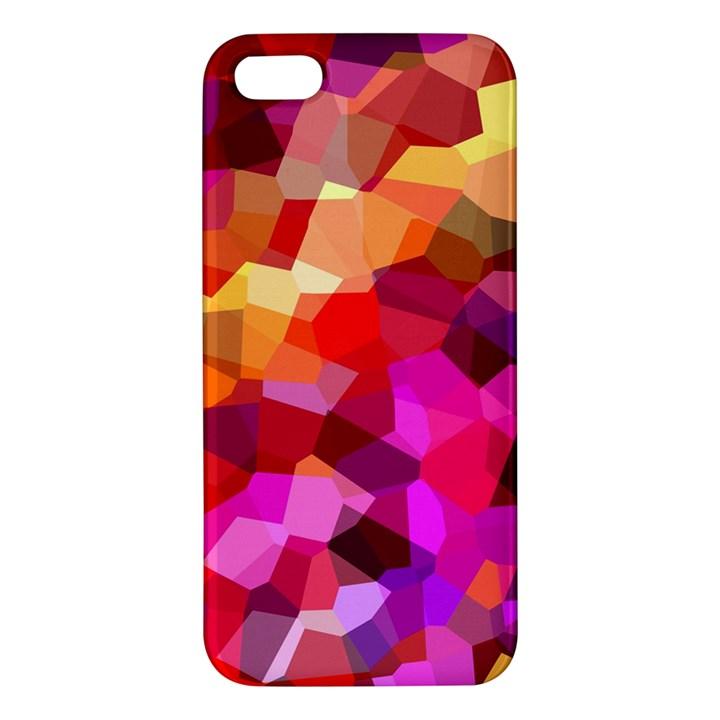 Geometric Fall Pattern Apple iPhone 5 Premium Hardshell Case