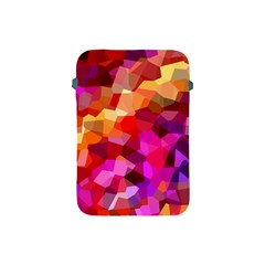 Geometric Fall Pattern Apple Ipad Mini Protective Soft Cases by DanaeStudio