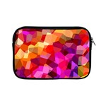 Geometric Fall Pattern Apple iPad Mini Zipper Cases Front