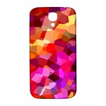 Geometric Fall Pattern Samsung Galaxy S4 I9500/I9505  Hardshell Back Case Front