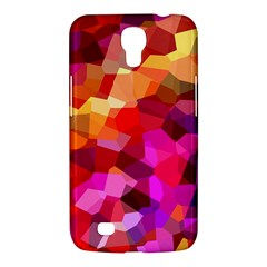 Geometric Fall Pattern Samsung Galaxy Mega 6 3  I9200 Hardshell Case by DanaeStudio