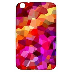 Geometric Fall Pattern Samsung Galaxy Tab 3 (8 ) T3100 Hardshell Case  by DanaeStudio