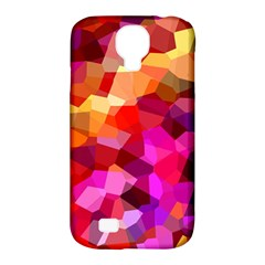 Geometric Fall Pattern Samsung Galaxy S4 Classic Hardshell Case (pc+silicone) by DanaeStudio