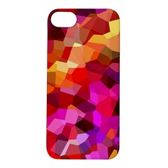 Geometric Fall Pattern Apple Iphone 5s/ Se Hardshell Case by DanaeStudio