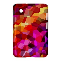 Geometric Fall Pattern Samsung Galaxy Tab 2 (7 ) P3100 Hardshell Case