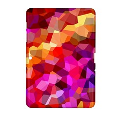 Geometric Fall Pattern Samsung Galaxy Tab 2 (10 1 ) P5100 Hardshell Case  by DanaeStudio