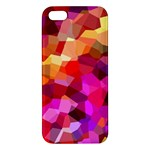 Geometric Fall Pattern iPhone 5S/ SE Premium Hardshell Case