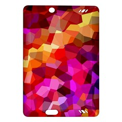 Geometric Fall Pattern Amazon Kindle Fire Hd (2013) Hardshell Case by DanaeStudio