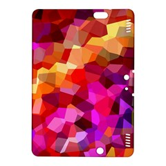 Geometric Fall Pattern Kindle Fire Hdx 8 9  Hardshell Case by DanaeStudio