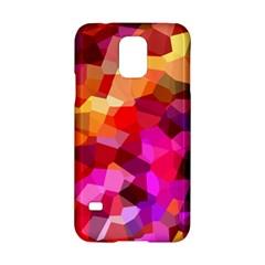 Geometric Fall Pattern Samsung Galaxy S5 Hardshell Case