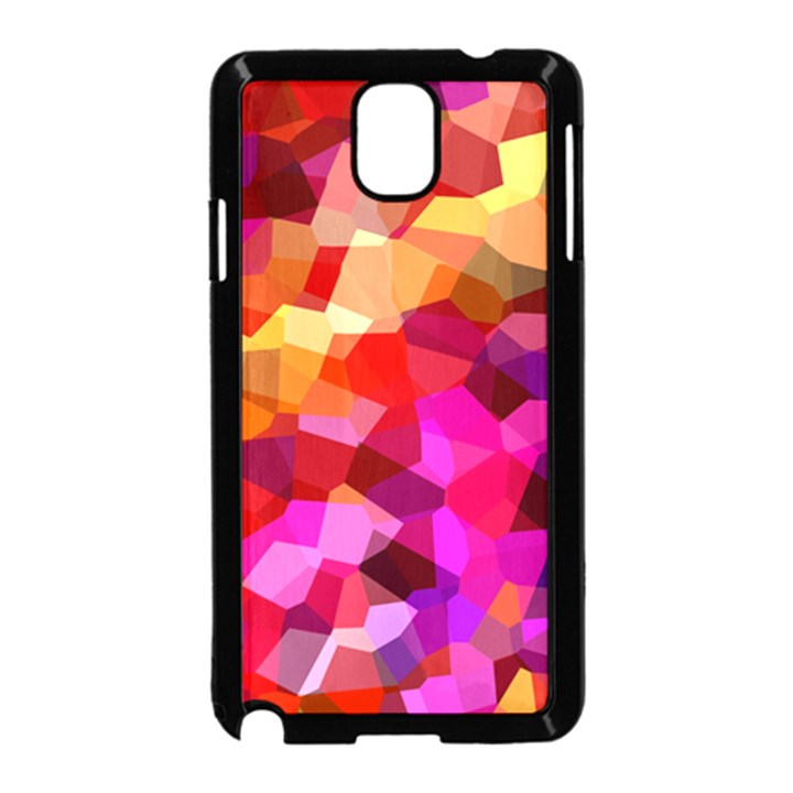 Geometric Fall Pattern Samsung Galaxy Note 3 Neo Hardshell Case (Black)