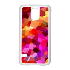 Geometric Fall Pattern Samsung Galaxy S5 Case (white)
