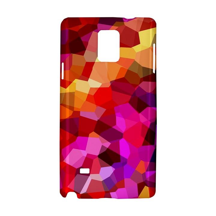 Geometric Fall Pattern Samsung Galaxy Note 4 Hardshell Case