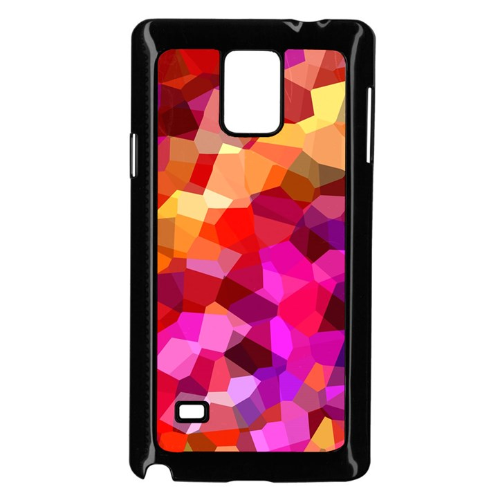 Geometric Fall Pattern Samsung Galaxy Note 4 Case (Black)