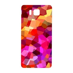 Geometric Fall Pattern Samsung Galaxy Alpha Hardshell Back Case by DanaeStudio