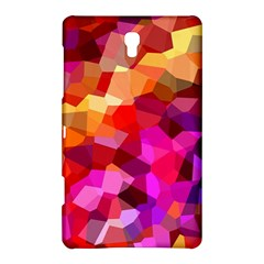 Geometric Fall Pattern Samsung Galaxy Tab S (8 4 ) Hardshell Case