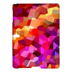 Geometric Fall Pattern Samsung Galaxy Tab S (10 5 ) Hardshell Case