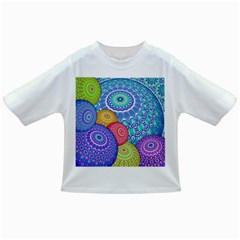 India Ornaments Mandala Balls Multicolored Infant/toddler T Shirts by EDDArt