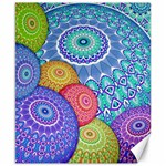 India Ornaments Mandala Balls Multicolored Canvas 8  x 10  10.02 x8 Canvas - 1