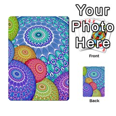 India Ornaments Mandala Balls Multicolored Multi Purpose Cards (rectangle)