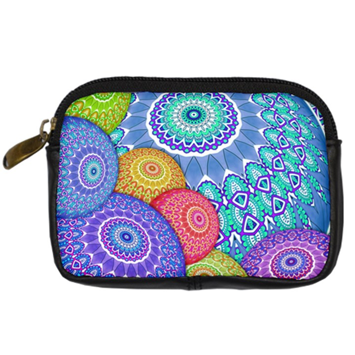 India Ornaments Mandala Balls Multicolored Digital Camera Cases