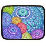 India Ornaments Mandala Balls Multicolored Netbook Case (XL)  Front
