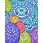 India Ornaments Mandala Balls Multicolored Large Memo Pads 4.125 x5.5  Memopad