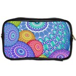 India Ornaments Mandala Balls Multicolored Toiletries Bags 2-Side Front