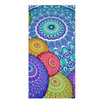 India Ornaments Mandala Balls Multicolored Shower Curtain 36  x 72  (Stall)  33.26 x66.24 Curtain