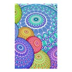 India Ornaments Mandala Balls Multicolored Shower Curtain 48  x 72  (Small)  42.18 x64.8 Curtain