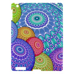 India Ornaments Mandala Balls Multicolored Apple Ipad 3/4 Hardshell Case