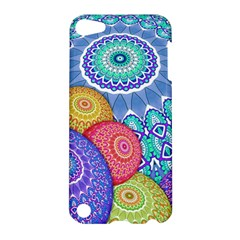 India Ornaments Mandala Balls Multicolored Apple Ipod Touch 5 Hardshell Case by EDDArt