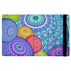 India Ornaments Mandala Balls Multicolored Apple Ipad 2 Flip Case