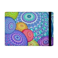 India Ornaments Mandala Balls Multicolored Apple Ipad Mini Flip Case