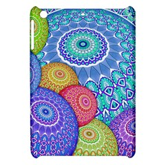 India Ornaments Mandala Balls Multicolored Apple Ipad Mini Hardshell Case by EDDArt