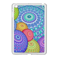 India Ornaments Mandala Balls Multicolored Apple Ipad Mini Case (white) by EDDArt