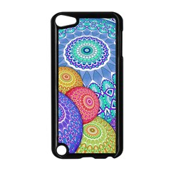 India Ornaments Mandala Balls Multicolored Apple Ipod Touch 5 Case (black)
