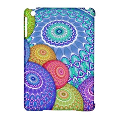 India Ornaments Mandala Balls Multicolored Apple Ipad Mini Hardshell Case (compatible With Smart Cover)