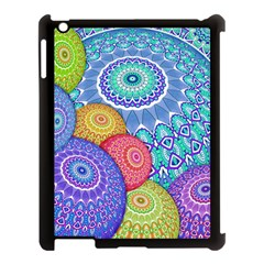 India Ornaments Mandala Balls Multicolored Apple Ipad 3/4 Case (black) by EDDArt