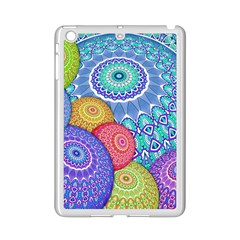 India Ornaments Mandala Balls Multicolored Ipad Mini 2 Enamel Coated Cases by EDDArt