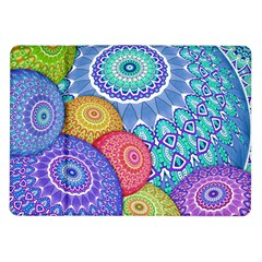 India Ornaments Mandala Balls Multicolored Samsung Galaxy Tab 10 1  P7500 Flip Case by EDDArt