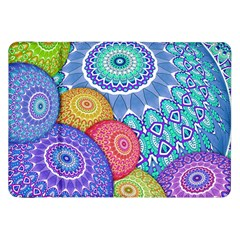 India Ornaments Mandala Balls Multicolored Samsung Galaxy Tab 8 9  P7300 Flip Case by EDDArt